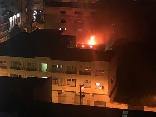 Filho incendeia apartamento da mãe em Caratinga