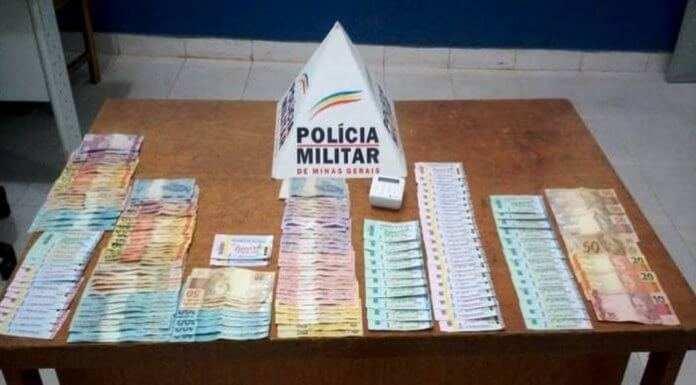 PM apreende suspeitos de comercializar ingressos falsificados em Rio Casca