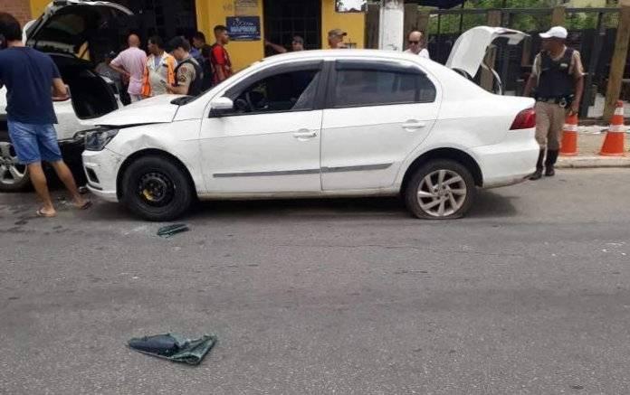 Homem é preso em Timóteo com táxi de Abre Campo roubado em Ponte Nova MG