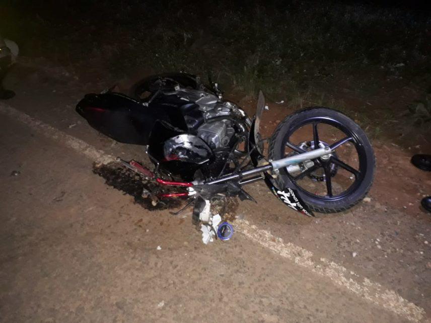 Dois jovens morrem em acidente entre três motos na rodovia Manhuaçu – Luisburgo