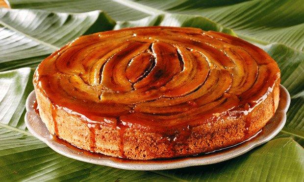 Receita de Torta de banana rápida