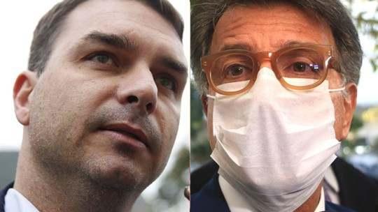 MPF marca acareação entre Flávio Bolsonaro e Paulo Marinho para setembro